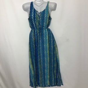 TWO BY VINCE CAMUTO sun tropical maxi dress